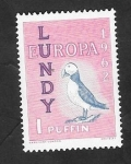 Stamps : Europe : United_Kingdom :  Lundy - Europa, frailecillo