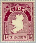 Sellos del Mundo : Europa : Irlanda : Symbols 1922-34