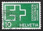 Sellos de Europa - Suiza -  Exposicion nacional Lausanne 1964