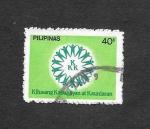 Stamps Philippines -  1594 - Movimiento de Solidaridad Nacional