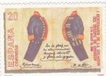 Stamps : Europe : Spain :  I CENTENARIO CREACIÓN CUERPO DE CORREOS (33)