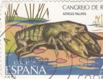 Sellos del Mundo : Europa : España : CANGREJO DE RIO (33)