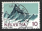 Sellos de Europa - Suiza -  Finsteraarhorn mountain