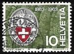 Stamps Switzerland -  Escalada de Montañas