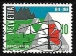 Sellos de Europa - Suiza -  Movimiento Scout