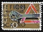 sellos de Europa - Suiza -  Herramientas
