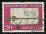 Stamps of the world : Switzerland :  (Emblemas) | Universidades