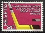 Stamps Switzerland -  Hockey sobre Hielo
