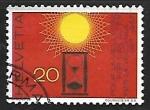 Stamps Switzerland -  Relojes | Sol