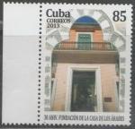 Sellos de America - Cuba -  30 ANIVERSARIO DE LA FUNDACIÓN DE LA CASA DE LOS ÁRABES