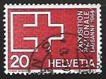 Stamps Switzerland -  Exposicion  nacional  Lausanne 1964