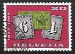 sellos de Europa - Suiza -  sellos de jubileo