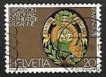 sellos de Europa - Suiza -  Exposicion nacional de filatelia Lausanne