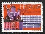 sellos de Europa - Suiza -      Congresos | Edificios | U.P.U.