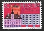 Sellos de Europa - Suiza -      Congresos   Edificios   U.P.U.