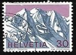 Stamps Switzerland -  Piz Palü