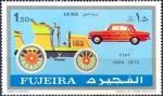Sellos de Asia - Emiratos Árabes Unidos -  Carros, Fujeira