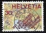 Sellos de Europa - Suiza -  Cartografía | Mapas