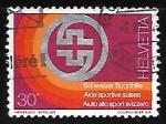 Sellos de Europa - Suiza -  Badge of Swiss Sport Aid