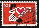Stamps : Europe : Switzerland :  Telefono amigo