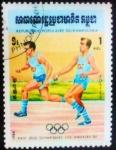 Sellos del Mundo : Asia : Camboya : Juegos Olímpicos. Los Angeles 1984