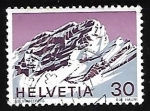 Stamps : Europe : Switzerland :  Les Diablerets, Waadt Canton