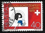 Stamps : Europe : Switzerland :  50th Federal Riflemen's Festiva