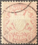 Stamps Europe - Germany -  Alemania. Sellos Clásicos. Bayern 1874