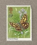 Sellos de Europa - Reino Unido -  Mariposa