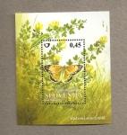 Sellos de Europa - Eslovenia -  Mariposa Colias myrmidone