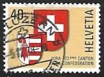 Sellos de Europa - Suiza -  Escudo de Armas