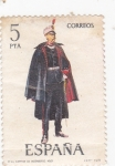 Stamps : Europe : Spain :  CAPITAN DE INGENIEROS (33)