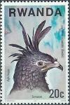 Stamps Rwanda -  Aves de presa