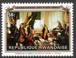 Sellos del Mundo : Africa : Rwanda : 200 años de independencia de los EE. UU.