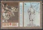 Sellos del Mundo : Asia : Emiratos_Árabes_Unidos :  FUJEIRA-TOKIO JUEGOS OLIMPICOS 1964