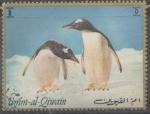 Sellos del Mundo : Asia : Emiratos_Árabes_Unidos :  UMM AL QUIWAIN-PINGUINOS NATURALEZA ANTARTIDA
