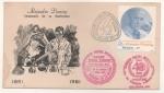 Sellos de America - México -  SOBRE PRIMER DÍA DE EMISIÓN-CENTENARIO DEL NATALICIO DE ALEJANDRO FLEMING 1881-1981