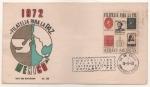 Sellos de America - México -  SOBRE PRIMER DÍA DE EMISIÓN-1972 FILATELIA PARA LA PAZ-EXFILBRA 72