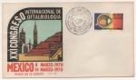Sellos de America - México -  SOBRE PRIMER DÍA DE EMISIÓN-CONGRESO INTERNACIONAL DE OFTALMOLÓGICA MÉXICO 1970