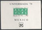 Sellos del Mundo : America : México : UNIVERSIADA 79 - DEPORTES VARIOS