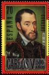Stamps Europe - Spain -  Pintura de Carlos V