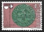 Sellos de Europa - Suiza -  City seal of Solothurn