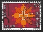 Stamps Switzerland -  Symbolism