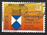 Stamps Switzerland -  Proteccion de los bienes culturales