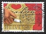 Stamps Europe - Switzerland -  Artesanía   Tallas en Madera