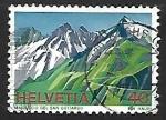 Stamps Europe - Switzerland -  Gotthard Massif