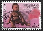 Stamps Switzerland -  Lucha contra la lepra
