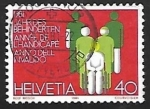 Stamps Switzerland -  Años Internacionales | Discapacitados