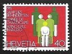 Sellos de Europa - Suiza -  Años Internacionales | Discapacitados