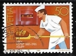 Stamps Europe - Switzerland -  Profesiones - panadero